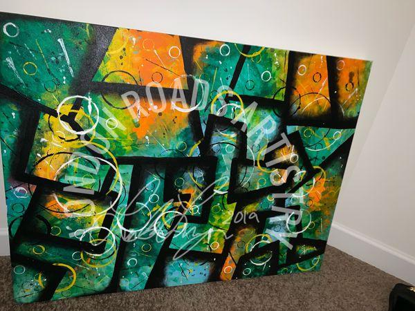 @LONDONRDS Original Acrylic Abstract Painting 30x40