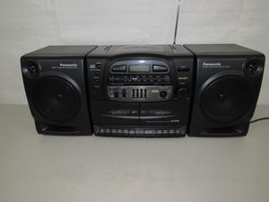 Panasonic RX-DT600 AM/FM Stereo CD Cassette Player for Sale in North Springfield, VA