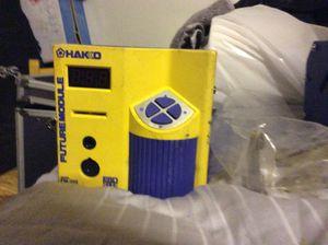 Hako soldering station esd safe model fm 202 with fm 202 iron holder for Sale in Scottsdale, AZ