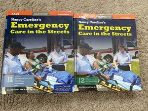 Nancy Carolines Emergency Care in the Streets 7th edition Paramedic for Sale in Santa Maria, CA
