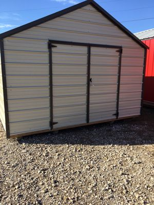 12x24 portable economy metal shed for Sale in Forney, TX