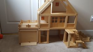 Plän Toys Wooden Doll House for Sale in Cary, NC