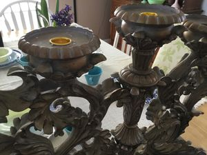 Very large candelabra like new for Sale in Chicago, IL