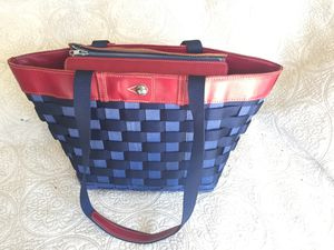 Longaberger basket weekend tote for Sale in Garden Grove, CA
