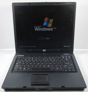 "HP Compaq nc6120 15"" Notebook Laptop Windows XP SP3 Home Edition, Microsoft Office, Wifi, DVD (40GB 512MB) for Sale in Mesa, AZ"
