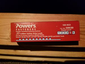 Power fastener strips 3 boxes for Sale in San Diego, CA