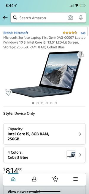 Microsoft Surface Laptop (1st Gen) for Sale in High Point, NC