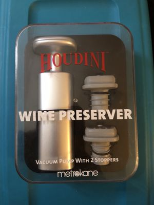 Houdini Wine Preserver for Sale in Mansfield, TX
