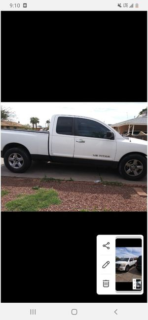 Nissan titan 2006 ..194mill for Sale in Phoenix, AZ