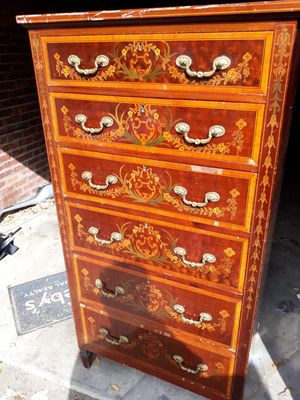 Antique cherrywood 6 drawers dresser for Sale in Queens, NY