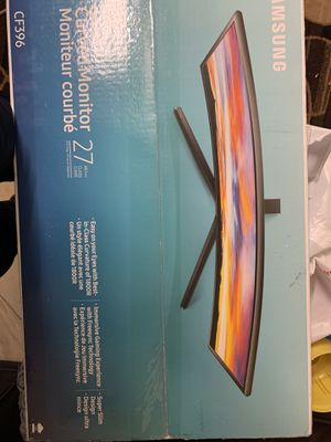 Curved gaming samsung monitor for Sale in Orlando, FL