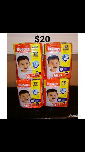 Huggies Snug & Dry size 6 Diapers pampers for Sale in Whittier, CA