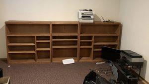 Oak Book shelves for Sale in Lake Stevens, WA