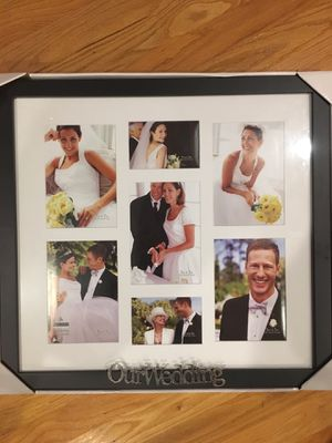 Wedding photo collage frame for Sale in Hoffman Estates, IL