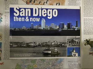 San Diego : Then & Now History Photography Book for Sale in Chula Vista, CA