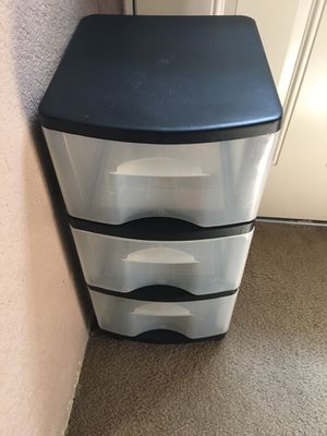 Plastic Storage Drawers for Sale in San Bernardino, CA