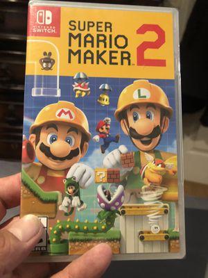 Super Mario Maker 2 for Nintendo Switch 50$$$ brand new sealed for Sale in Chula Vista, CA