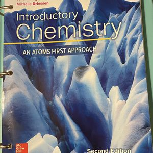 Introductory Chemistry: An Atoms First Approach for Sale in Kingsburg, CA