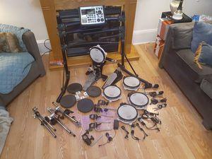Rowland electric drum set 21 piece set for Sale in Philadelphia, PA