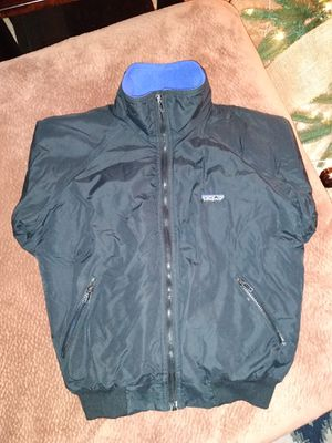 Patagonia fleece lined bomber jacket for Sale in Modesto, CA