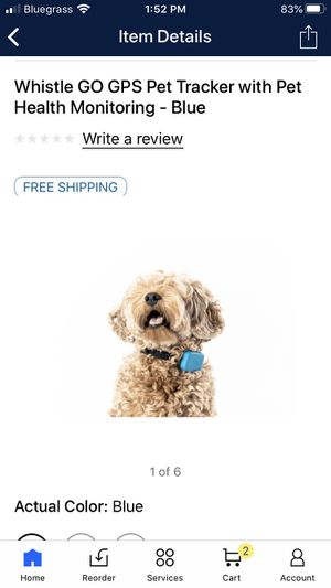 Whistle Go GPS and Activity Tracker for pets for Sale in Summer Shade, KY