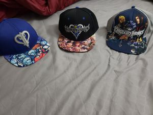 Kingdom Hearts hats! for Sale in Worcester, MA