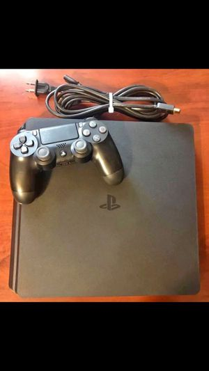 PS4 slim 1TB with controller & a few games $240 for Sale in Rockville, MD
