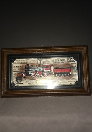 """Vintage Intercraft Industries Antique Trains Picture """"Columbia"""" for Sale in Tumwater, WA"""