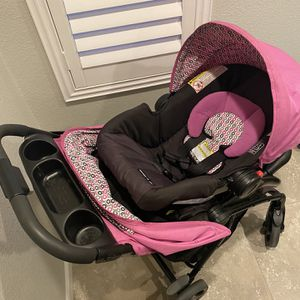 Graco Stroller & Car Seat Fast Action Fold Click Connect Travel System for Sale in Pleasanton, CA