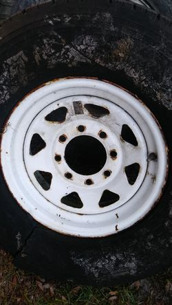 Trailer Rim 8 lug for Sale in Mount Plymouth,  FL