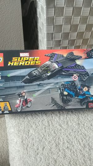 Black panther pursuit lego for Sale in Everett, WA