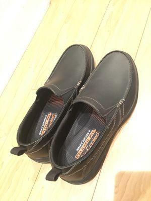 Slip on men's black dress loafer shoes size 9 for Sale in Irvine, CA