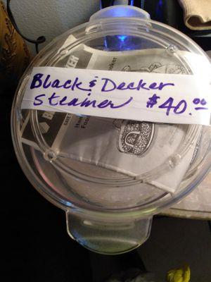 Black @ Decker Handy Rice Steamer Plus for Sale in CORP CHRISTI, TX