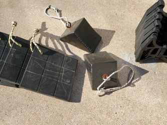 Jack Pads, Wheel Chalks, Sewer Slinky for Sale in Houston,  TX
