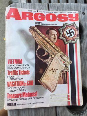Argosy Men's Magazine-Hitler's Solid Gold Pistol for Sale in North Riverside, IL