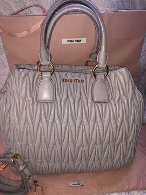 Miu Miu Matte Lasse leather bag for Sale in Upland, CA