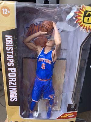 "New ""New York Knicks "" Kristaps Porzingis McFarlane for Sale in Falls Church, VA"