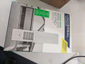 Universal Garage Door Wireless Keypad by Chamberlain for Sale in Springfield, VA