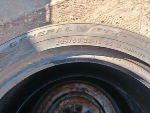 225/50zr18 General GMax tires for Sale in San Diego, CA