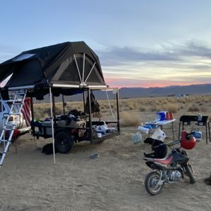 Over landing trailer WITH Rooftop Tent Make Me An Offer for Sale in Escondido, CA