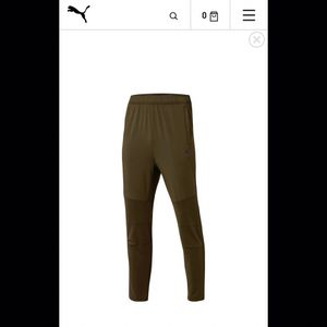 Puma dryCell Soccer Pant color Forest Night size-L Menswear for Sale in Reynoldsburg, OH