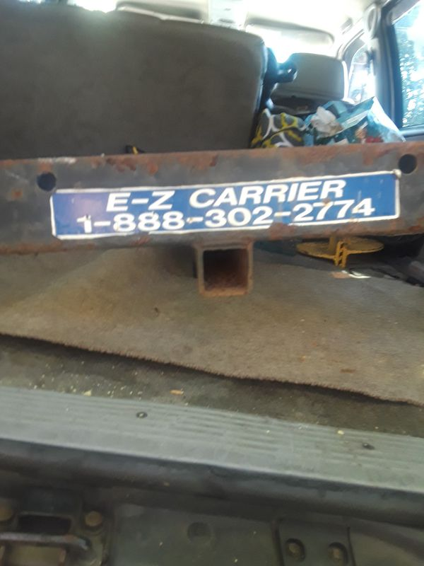 E-Z CARRIER&RECEIVER FOR TOWING