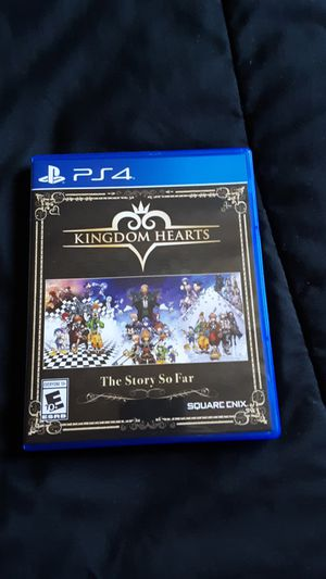 Kingdom hearts the story so far PS4 for Sale in Caldwell, ID