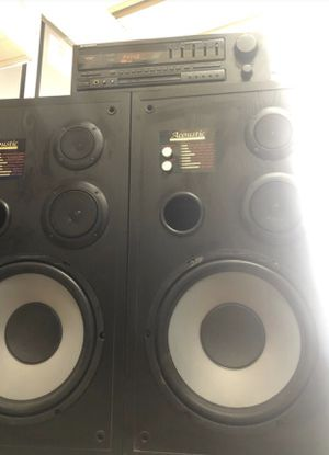 Pioneer Receiver with speakers for Sale in Bakersfield, CA