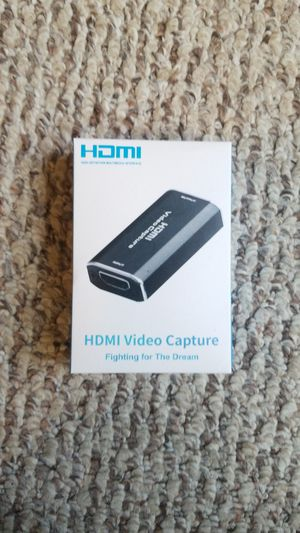 NEW HDMI Video Capture for Sale in Erie, PA
