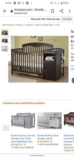 Baby crib for Sale in Clovis, CA