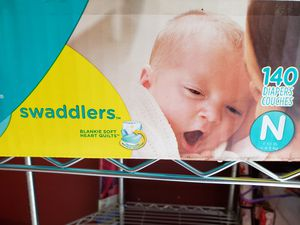 Pampers swaddlers Newborn for Sale in Triangle, VA