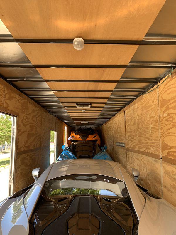3 car enclosed trailer