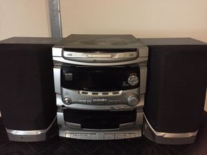 Westing House 3CD WX101 Bookshelf Stereo System for Sale in Fort Knox, KY