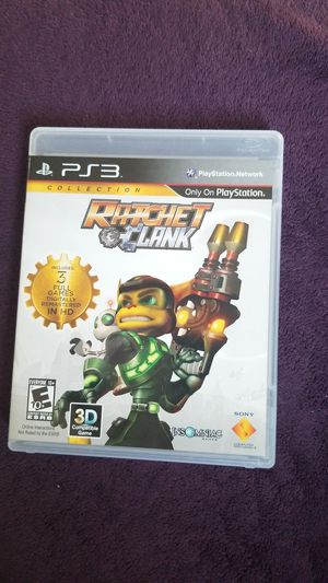 PS3 Ratchet Clank Game for Sale in Hayward, CA